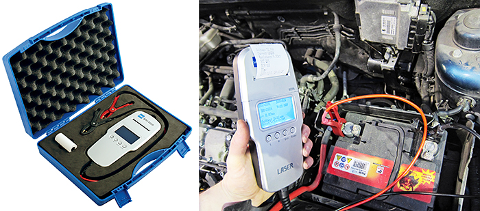 Car Battery Analyser with built-in Printer