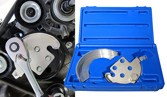 Stretchy belt fitting kit for Ford and Volvo 1.4 and 1.6 petrol engines