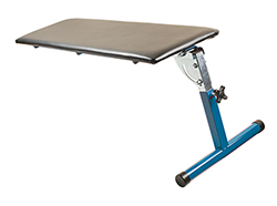 Comfortably work under the dashboard with this mechanic's support bench