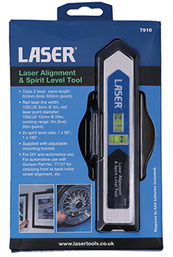 Easy to operate and very accurate laser alignment tool with multiple uses