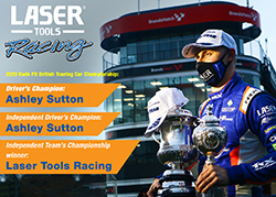 Ashley Sutton wins 2020 BTCC Driver's Championship for Laser Tools Racing