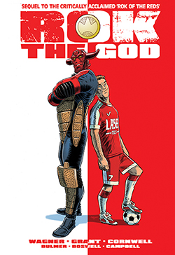 Laser Tools to sponsor football team — in a comic book!