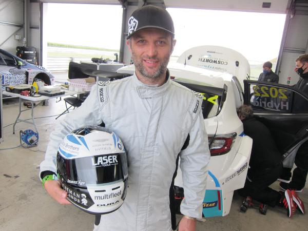 BTCC Hybrid Touring Car test driver Daren Turner
