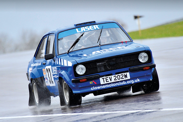 Laser Tools Rally Team - Peter Outram