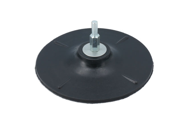 Laser Tools 0348 Rubber Backing Pad 125mm