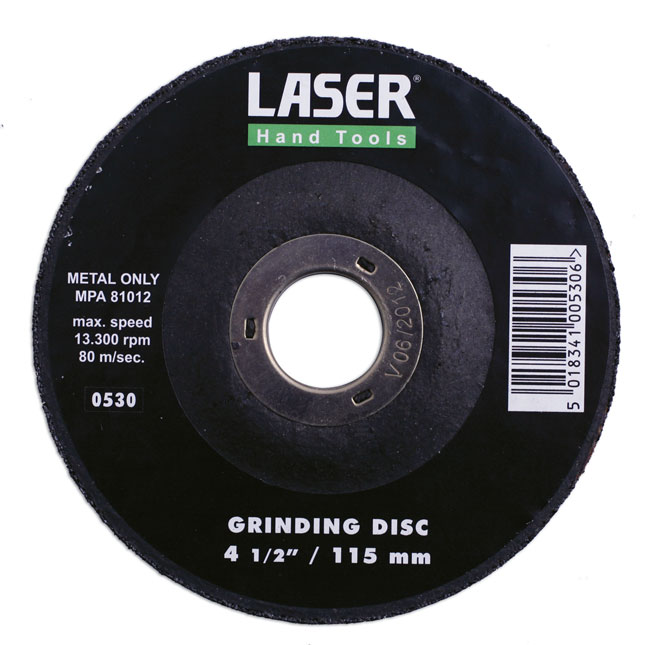 ~/items/xlarge/ image of Laser Tools | 0530 | Grinding Discs 115mm 1pc
