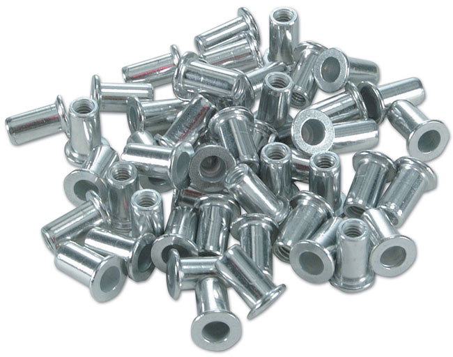 Laser Tools 0981 Riveting Nuts 4mm 50pc