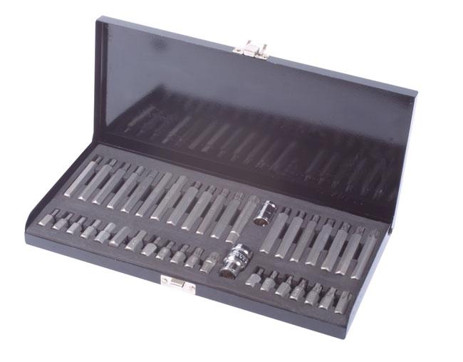 Laser Tools 1687 Automotive Bit Set 40pc