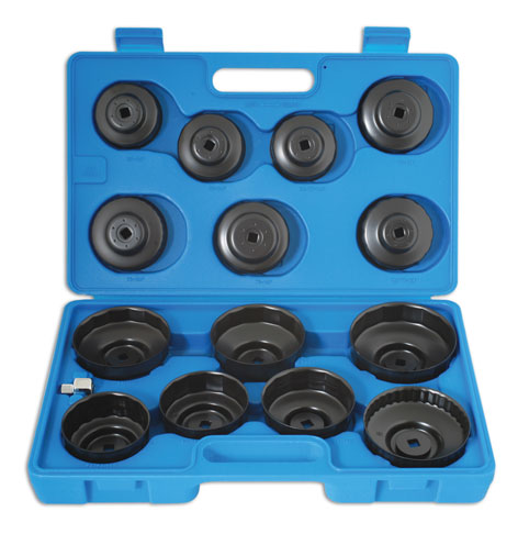Oil Filter Wrench Set 15pc
