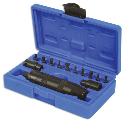 Laser Tools 2180 Impact Driver Bit Set 6pc
