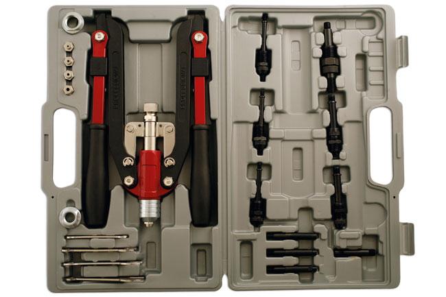 Laser Tools 3736 Heavy Duty Riveting Kit