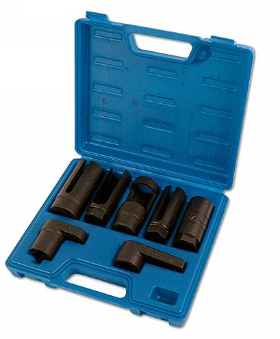 "Lambda Sensor Socket Set 3/8""D, 1/2""D 7pc"