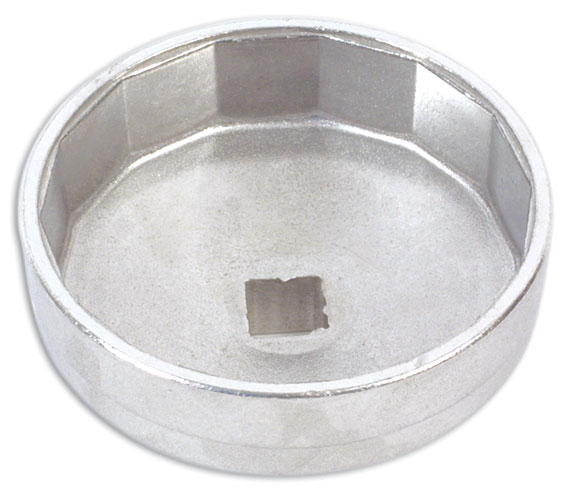 "Oil Filter Wrench 74mm x 14 Flutes 1/2""D"