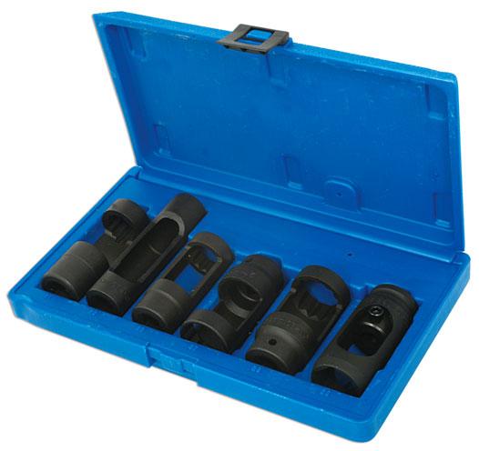 """Diesel Injector Sockets 1/2""""D 6pc"""
