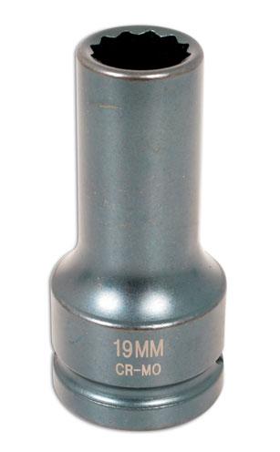 "Cylinder Head Impact Socket 3/4""D 19mm"