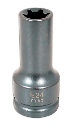 "Impact Star Socket 3/4""D E24"