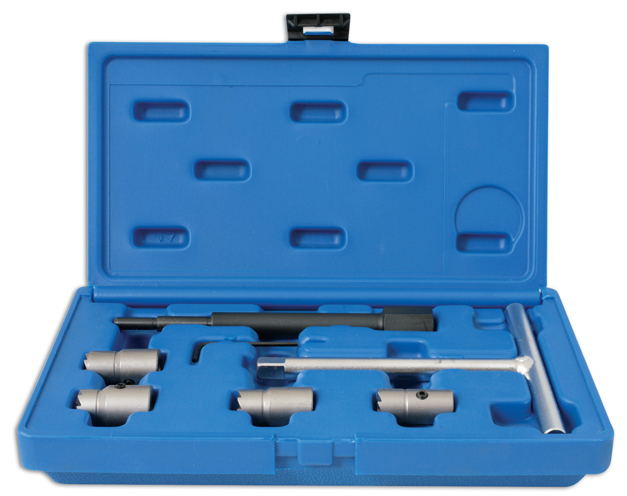FRONT image of Laser Tools | 4597 | Diesel Injector Seat Cutter Set ...