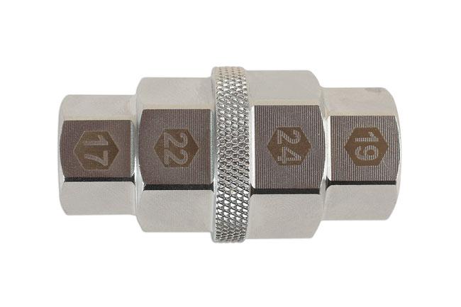 LASER TOOLS 6357 REAR WHEEL SOCKET FOR SOME DUCATI TRIUMPH 41mm 46mm