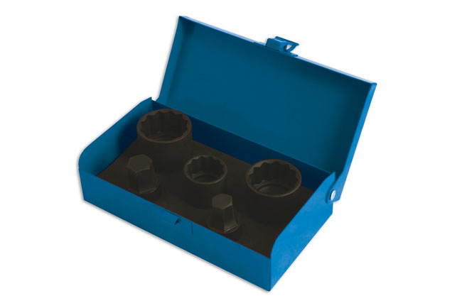 """Hub Nut Socket Set 1/2""""D 5pc - for VAG"""