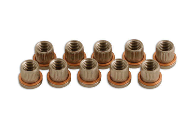 Threaded Inserts - 10pc