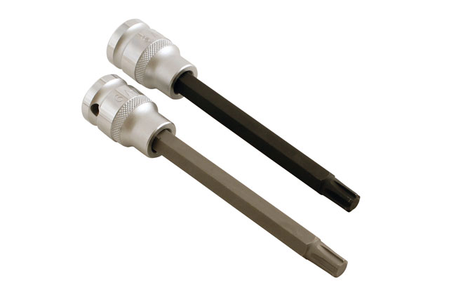 Left image of Laser Tools | 5092 | Ribe Profile Bit Set - 2pc