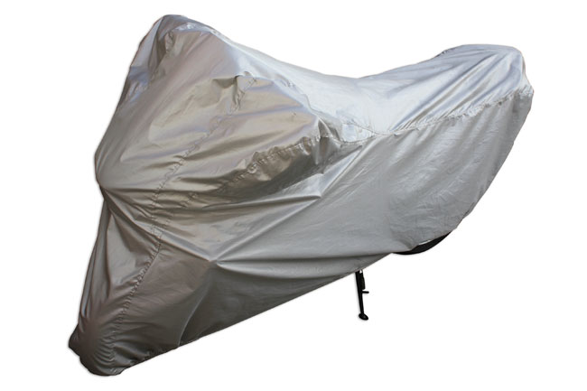 Product image of Laser Tools | 5105 | Water Resistant Motorcycle Cover Medium