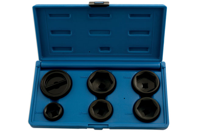 "Oil Filter Socket Set 3/8""D 6pc"