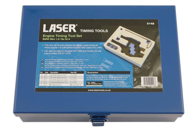tin image of Laser Tools | 5148 | Engine Timing Tool BMW Mini/PSA 1.6 ...
