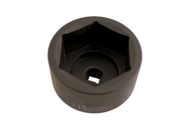 Hub Nut Socket 115mm - DAF/Volvo