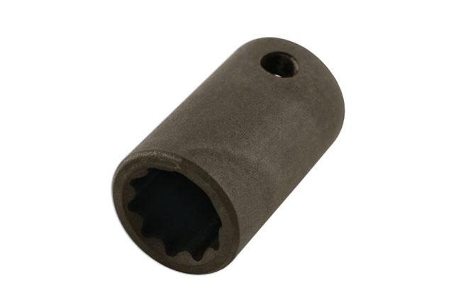 """10pt Socket 3/8""""D 12mm - for Mitsubishi, Chrysler"""