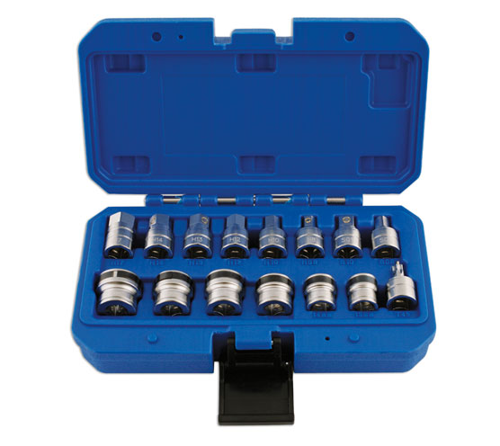 "Magnetic Sump Key & Socket Set 3/8""D"