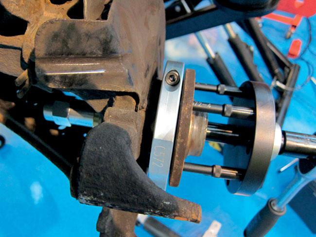 Laser Tools 5568 GEN2 Wheel Bearing Kit 78mm - for Ford