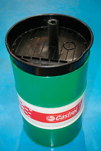 Drain Pan For 205 Litre Barrels Part No 5628 Part Of