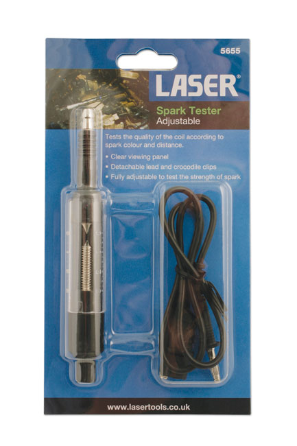 ~/items/xlarge/Packaging image of Laser Tools | 5655 | Adjustable Spark Tester