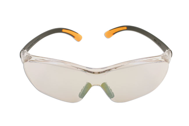 Laser Tools 5674 Safety Glasses - Clear/Mirror