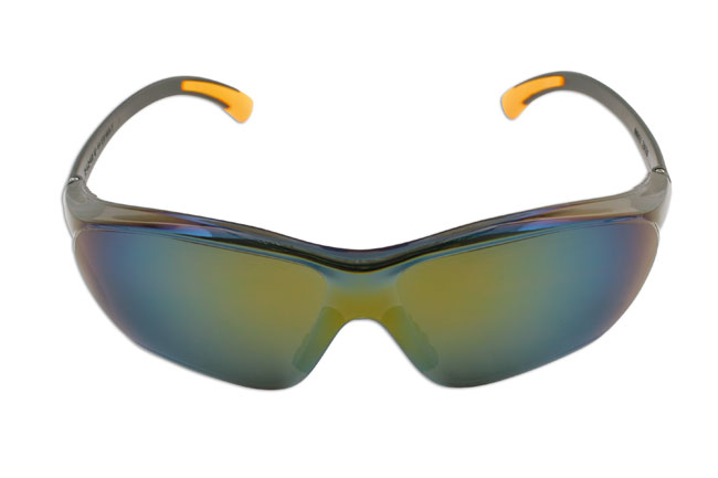 image of Laser Tools | 5675 | Safety Goggles - Black/mirrored