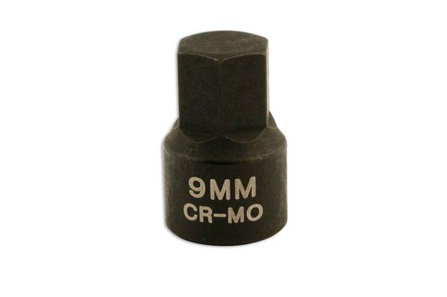"""Low Profile Hex Bit 1/4""""D 9mm"""