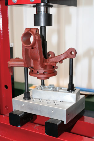 Laser Tools 5824 Press Supporting Block - 30 Tonne