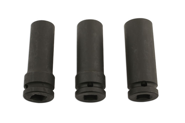 "Damaged Wheel Nut Remover 1/2""D 3pc"