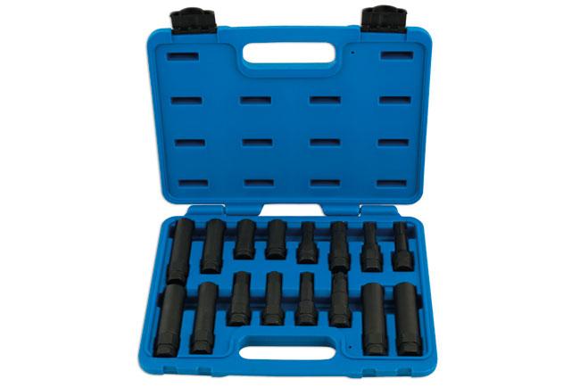 Locking Wheel Nut Master Key Set 16pc