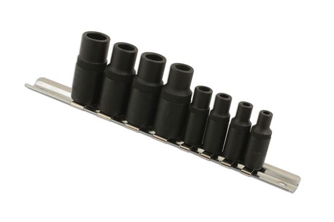 6058 Tap Socket Set 8pc Laser