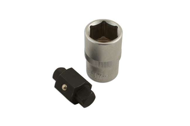 Drain Plug Key 8 x 10mm Square