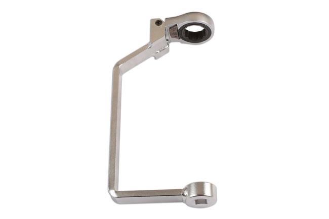 Front image of Laser Tools | 6067 | Ratchet Crows Foot Oil Wrench - Ford