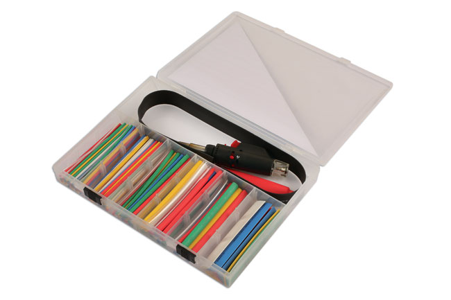 Left image of Laser Tools | 6076 | Torch with Heat Shrink Tubing Set 162pc