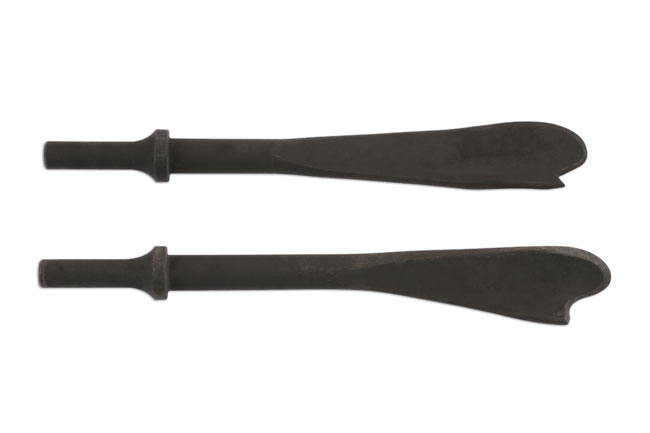 Air Chisel Set for Exhausts 2pc