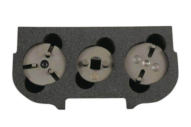 Laser Tools 5538 Piston Wind Back Adaptor 3 pin VAG