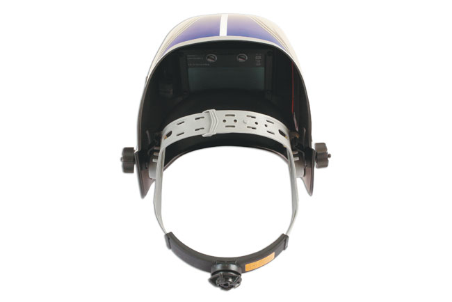 Back image of Laser Tools | 6094 | Welding Helmet Auto Darkening