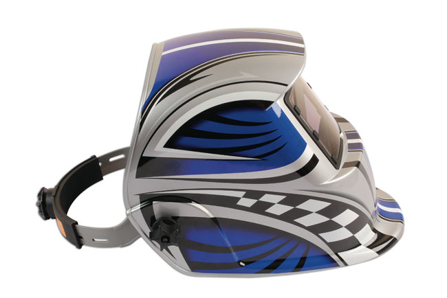 Side image of Laser Tools | 6094 | Welding Helmet Auto Darkening