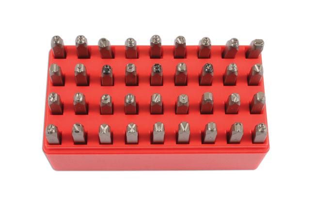 image of Laser Tools | 6117 | Letter and Number Punch Set