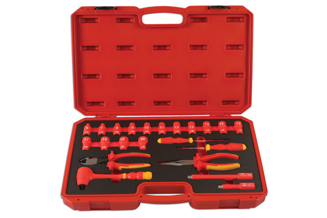 """Insulated Tool Kit 3/8""""D 22pc"""
